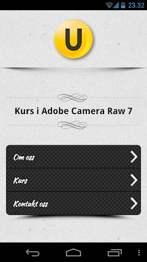 Kurs i Camera Raw 7
