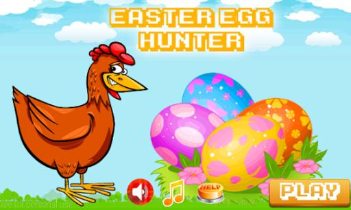Chicken Easter Egg Hunter