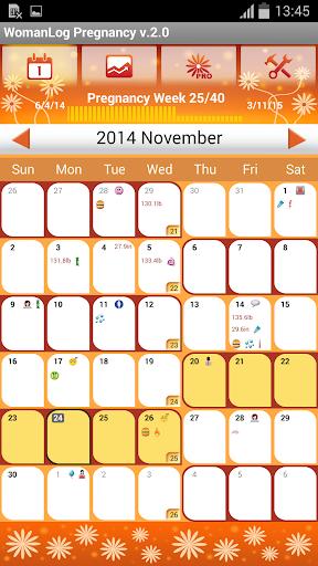 WomanLog 女性懷孕日曆