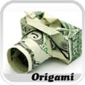 Dollar Origami icon
