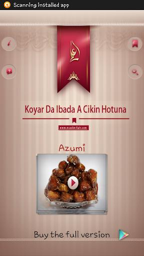 Koyar Da Ibada - Azumi