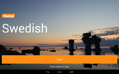 Learn Swedish with Babbel - screenshot thumbnail