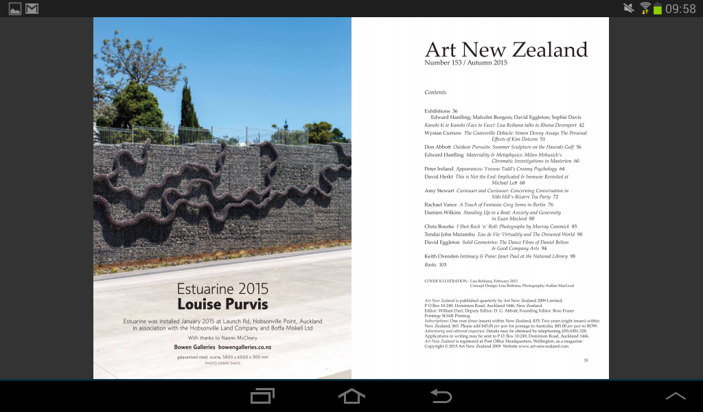 Art New Zealand- screenshot