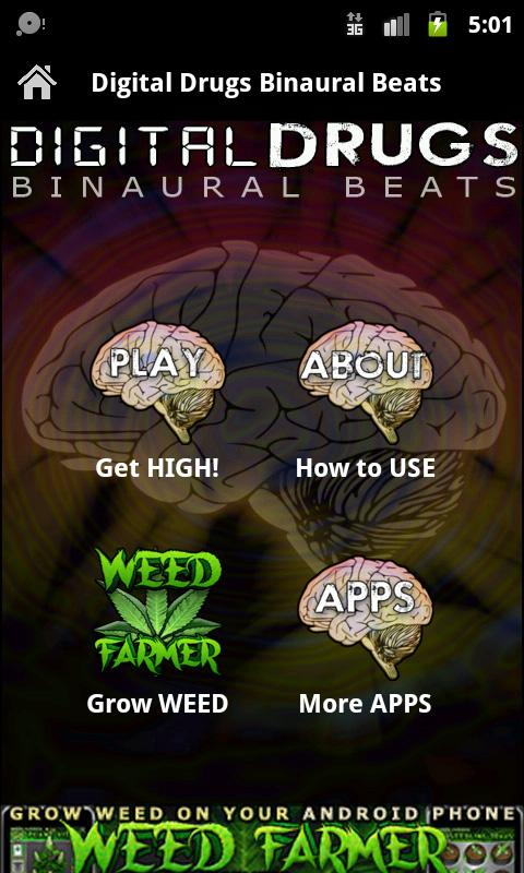 Digital Drugs & Binaural Beats - screenshot