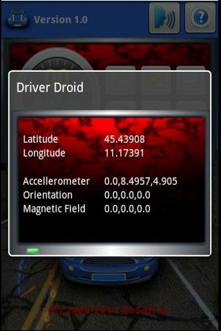 Sensor Viewer Driver Droid- screenshot