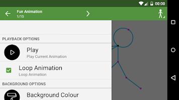 Screenshot of Stickfigure Animator