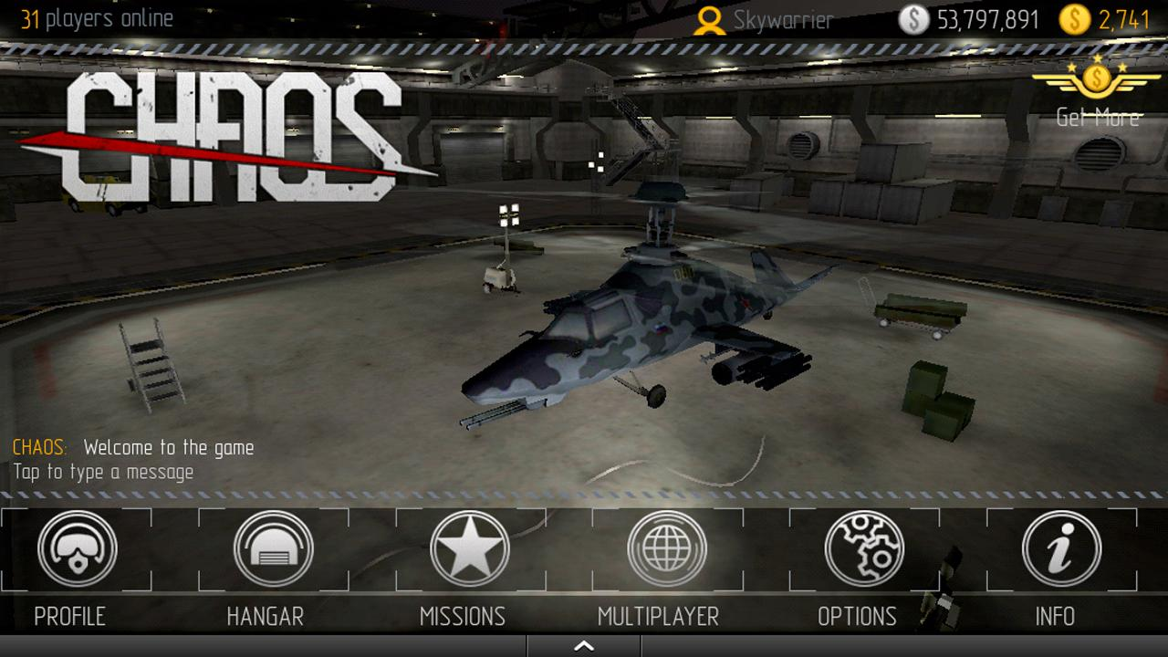 CHAOS Combat Copters HD №1 - screenshot