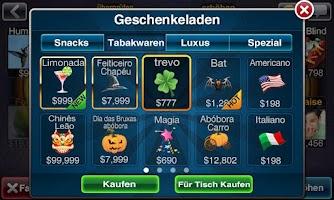 Screenshot of Deutsch Texas Poker Deluxe