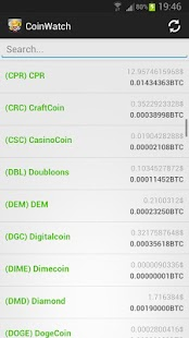 CoinWatch - Crypto Coin Prices screenshot
