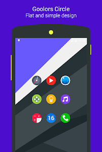 Goolors Circle - icon pack screenshot 0