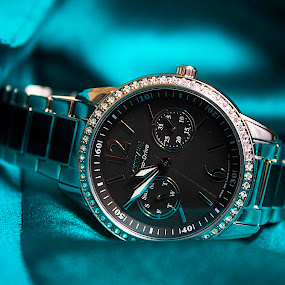 by Bonnie Filipkowski - Artistic Objects Jewelry ( citizen, product, green, drive, watch, teal, accessories, eco,  )