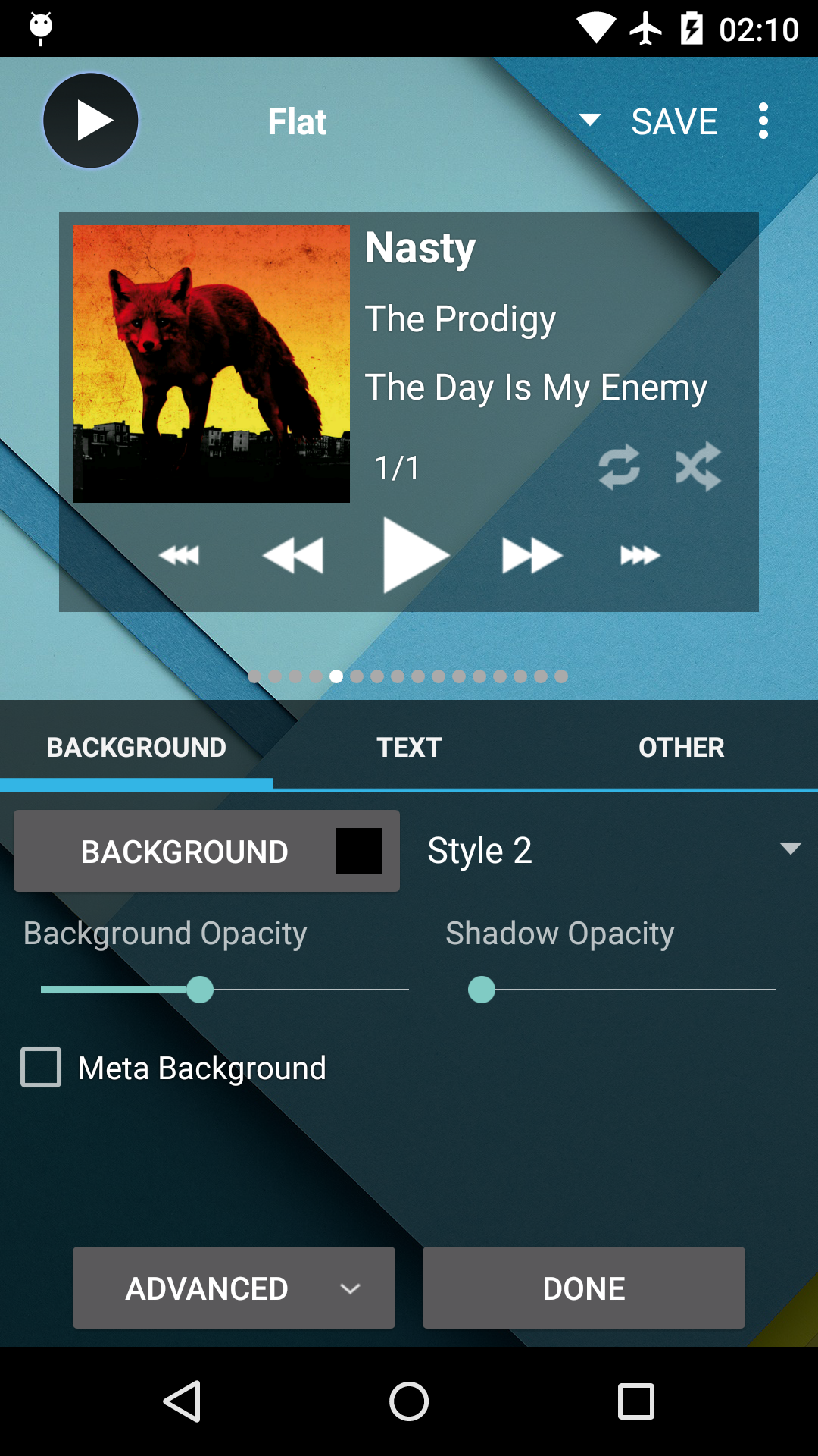 Poweramp Music Player (Trial) screenshot #5