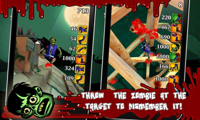 Push the Zombie- screenshot