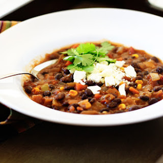 Black Bean and Sweet Potato Chili