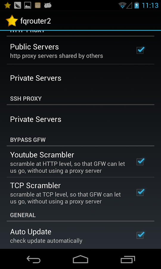 fqrouter2 - screenshot
