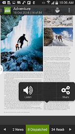 PressReader (preinstalled) Screenshot 5