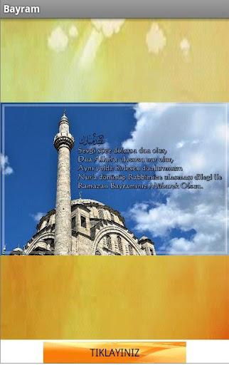 Bayram Mesaji