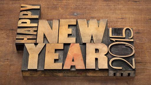 2015 New Year Wallpaper HD