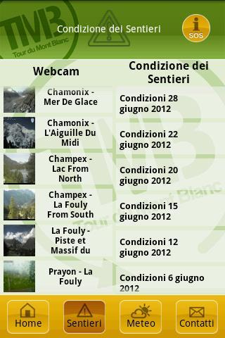 Autour Du Mont Blanc – екранна снимка