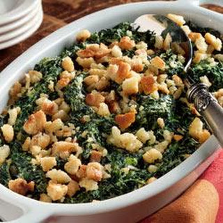 Spinach Casserole With Cream Cheese Recipes.