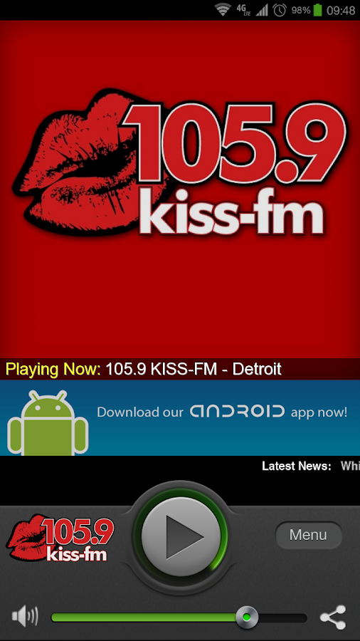 105.9 KISS-FM - Detroit - screenshot