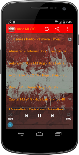 Latvia MUSIC Radio