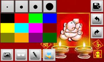 Screenshot of Diwali Greetings
