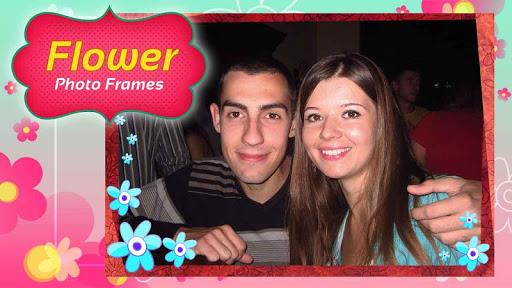 花卉 相框