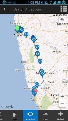 Screenshots for ixigo road trips dhabas petrol