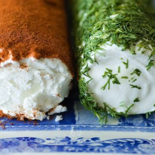 Goat Cheese with Fresh Dill and Paprika.