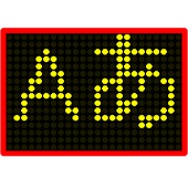 LED Scroller - Electronic display