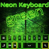 Neon Keyboard Green