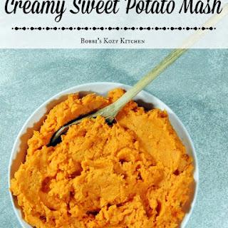 Creamy Sweet Potato Mash.