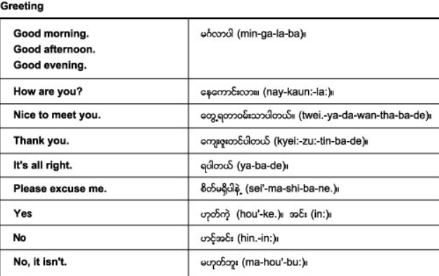 Learn Burmese - screenshot
