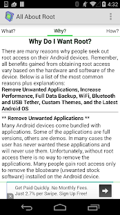 Root for Android - All About - screenshot thumbnail