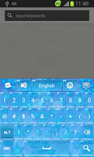 GO Keyboard Winter Themes- screenshot thumbnail