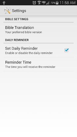 Daily Bible Verse 2.05 screenshot 303862