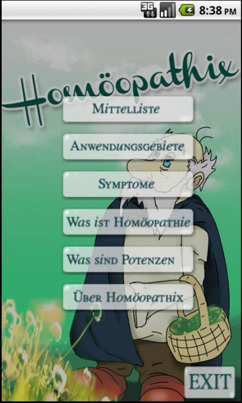 Homöopathix - screenshot