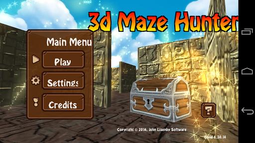 免費下載冒險APP|3d Maze Hunter app開箱文|APP開箱王