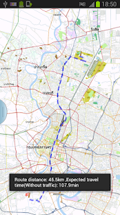 Bangkok Offline Map & Routing - screenshot thumbnail