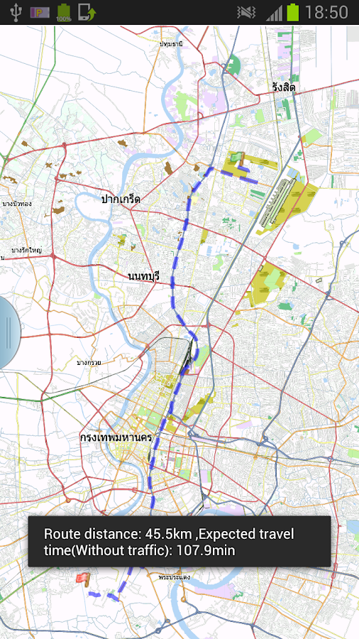 Bangkok Offline Map & Routing - screenshot