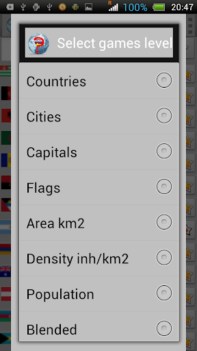 Countries and cities