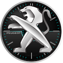 Peugeot Analog Clock Widget HD icon