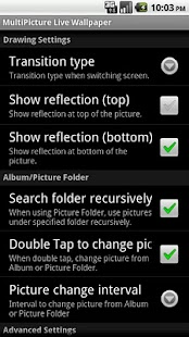 MultiPicture Live Wallpaper - screenshot thumbnail