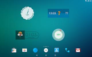 Screenshot of Zooper Widget Pro