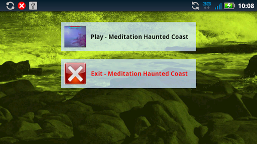 Meditation Haunted Coast