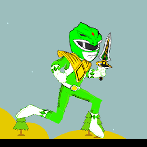 Samurai Green Rangers run game 動作 App LOGO-硬是要APP