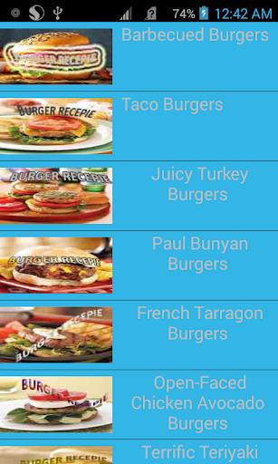 burger best ten recepie