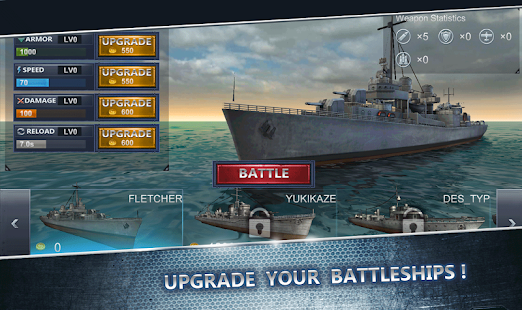 Ultimate Sea Battle 3D v1.5.0 [Mod Money] Apk
