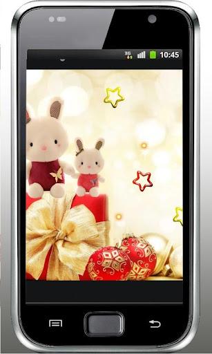 Christmas Rabbits LWP